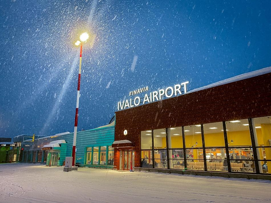 Ivalo Airport Lapland, Finland