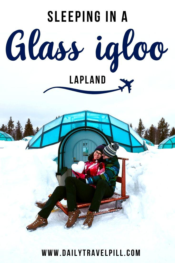 The best glass igloo resort - Kakslauttanen Arctic Resort
