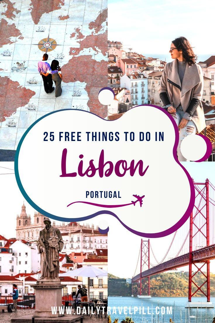 Free things to do in Lisbon on a budget