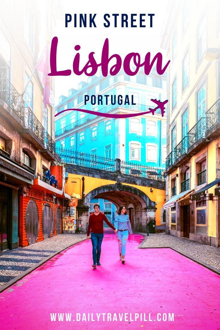 Pink Street Lisbon - Rua Nova do Carvalho