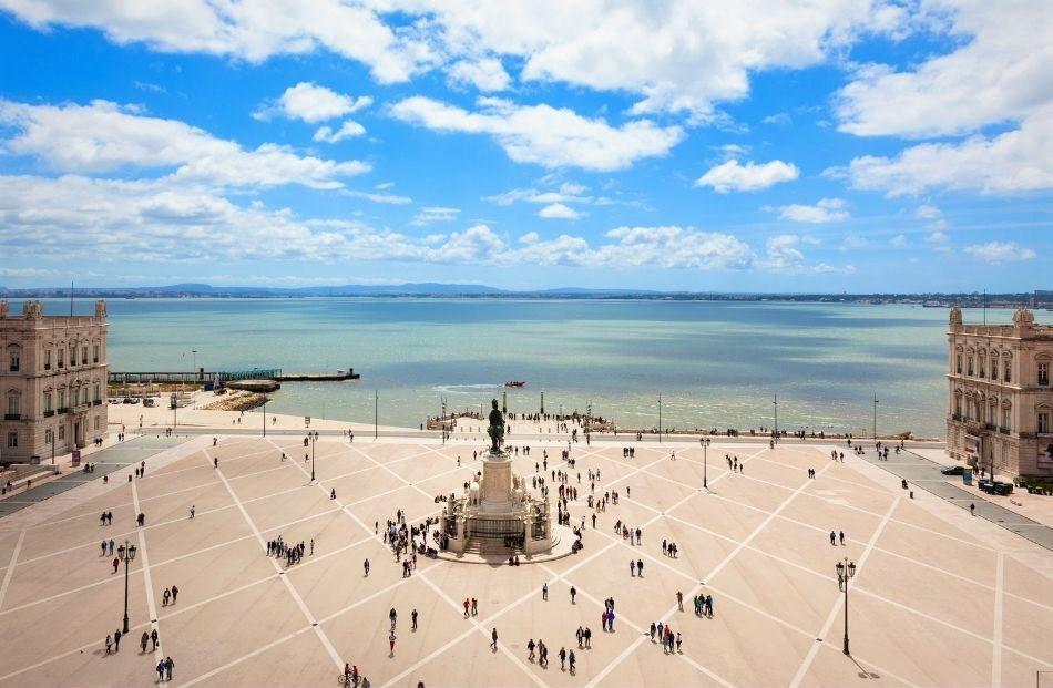 Lisbon riverfront