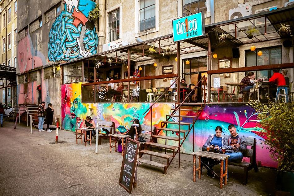 Lx Factory Lisbon pub bar
