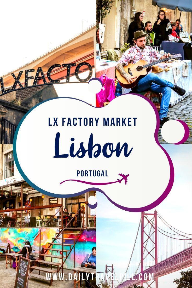 Lx Factory Lisbon - a creative neighborhood