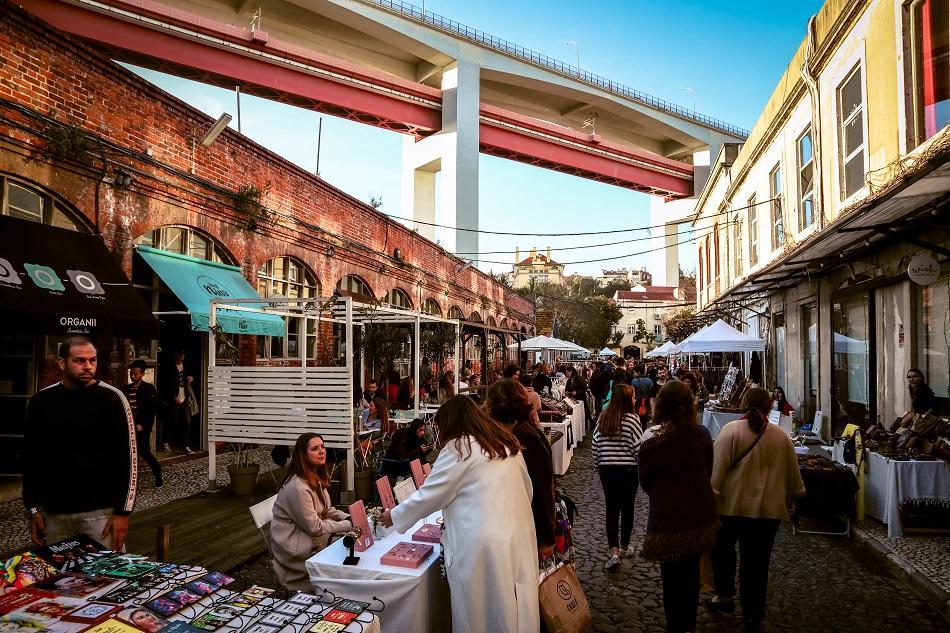 Lx Factory Lisbon Sunday Market