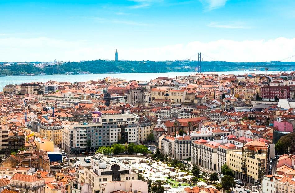Senhora do Monte viewpoint Lisbon