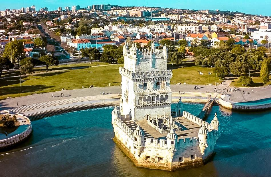 Belem Tower seen from above