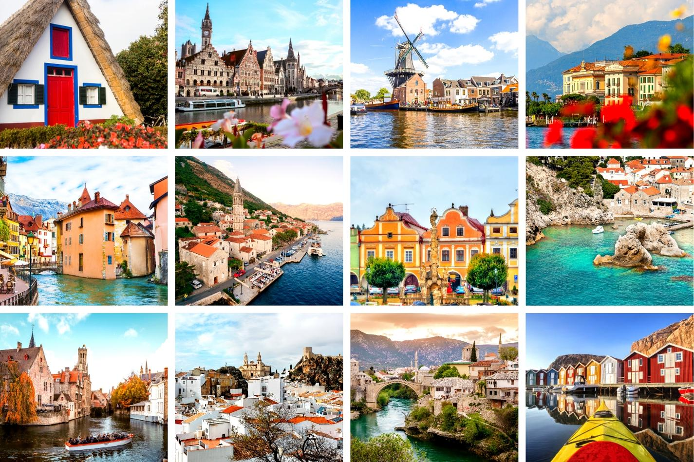 Best towns in Europe