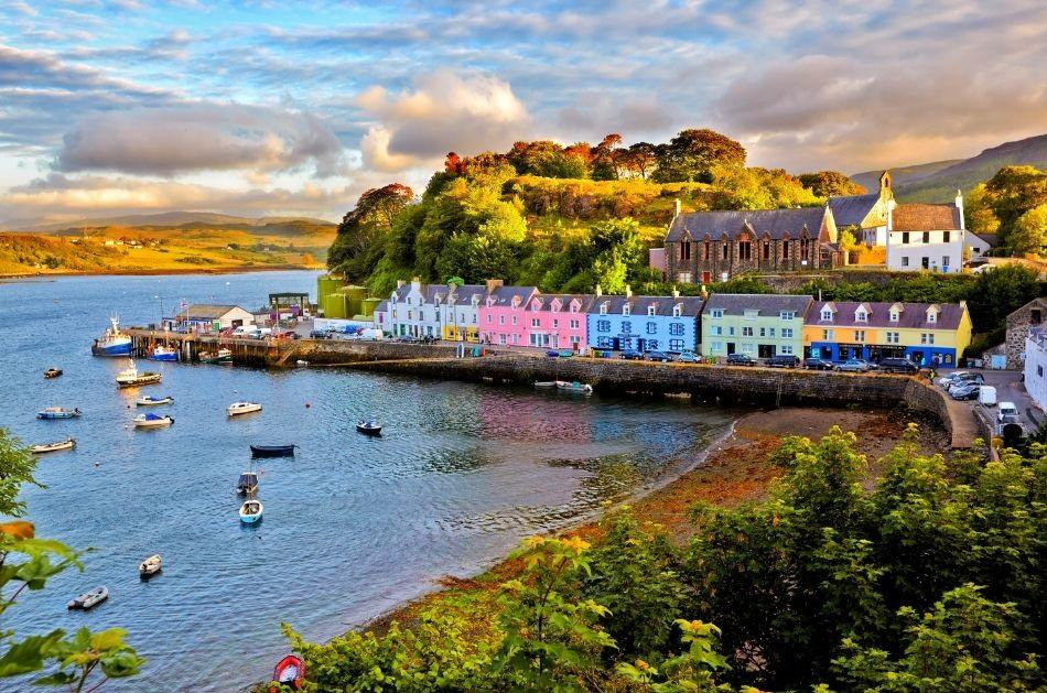 Portree. Scotland