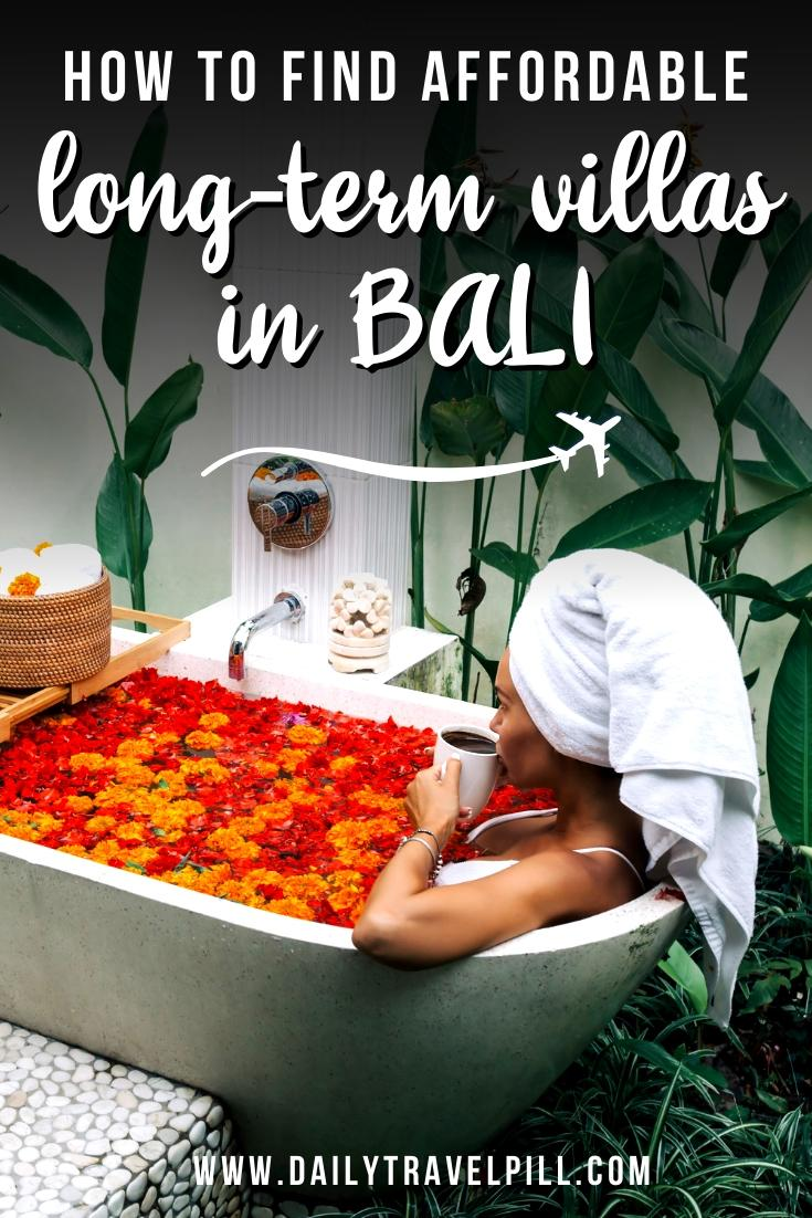 How to find long-term accommodation in Bali