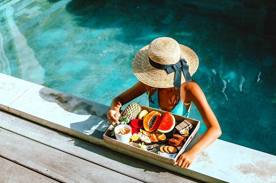 Bali infinity pool and villa