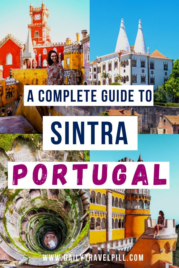 one day in Sintra, Portugal - itinerary