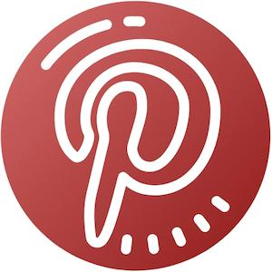 Pinterest Follow Icon