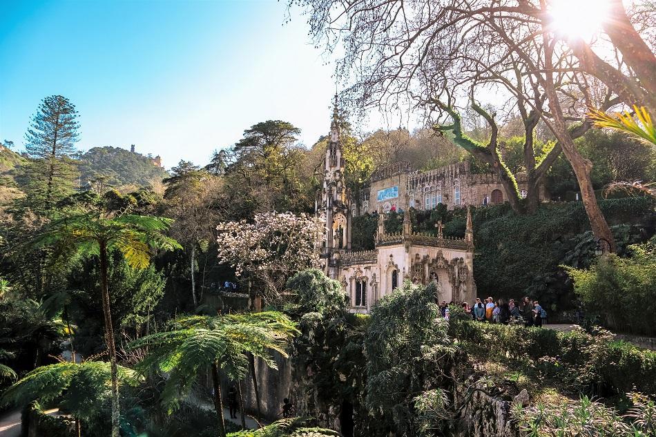 Quinta de Regaleira garden, Sintra