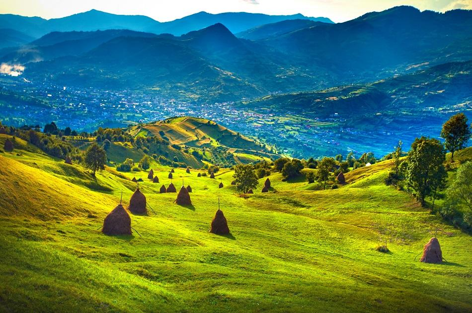 Romanian mountain view