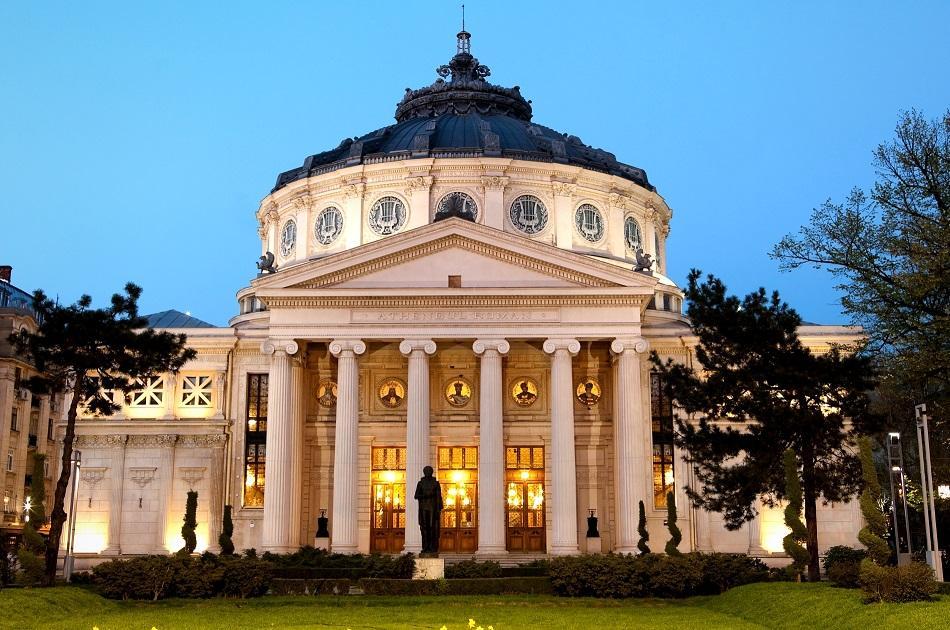 Romanian Atheneum in Bucharest