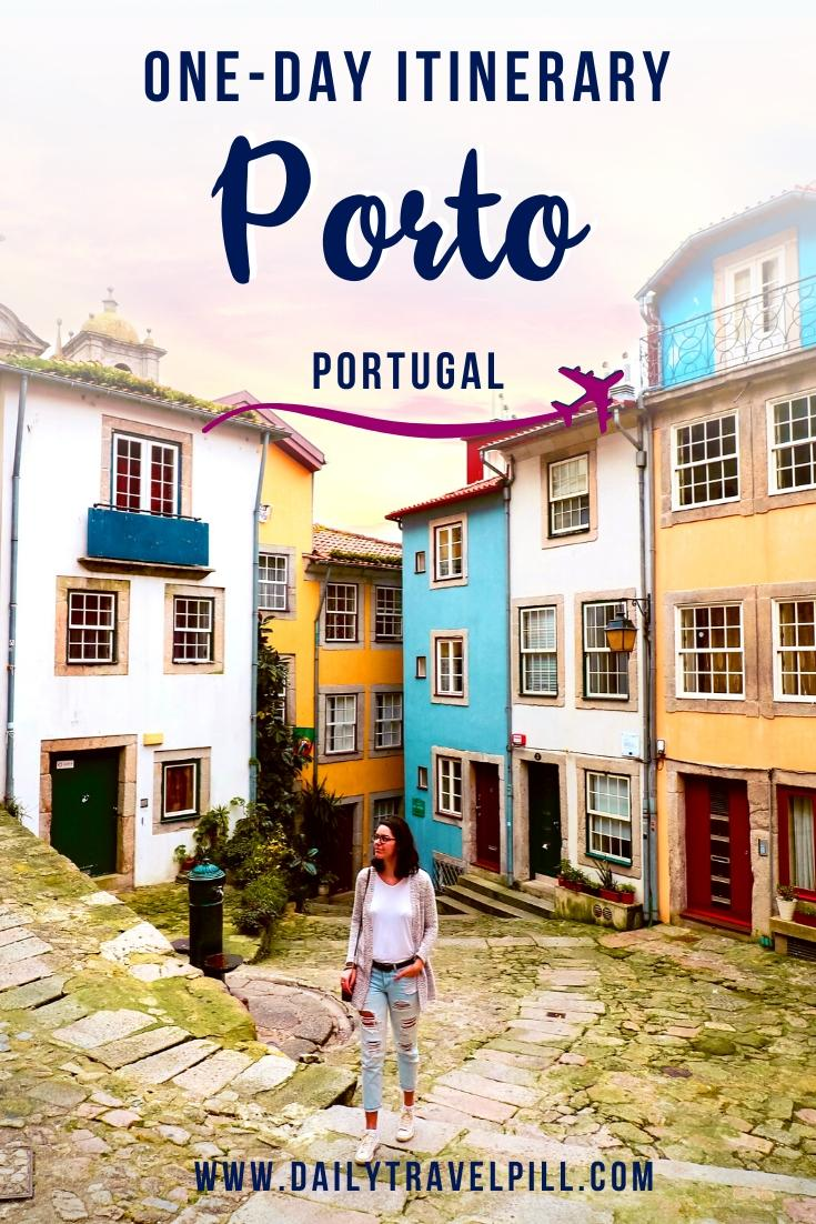 One day in Porto - itinerary
