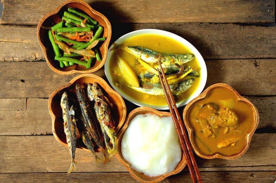 Ambuyat Traditional dish Brunei