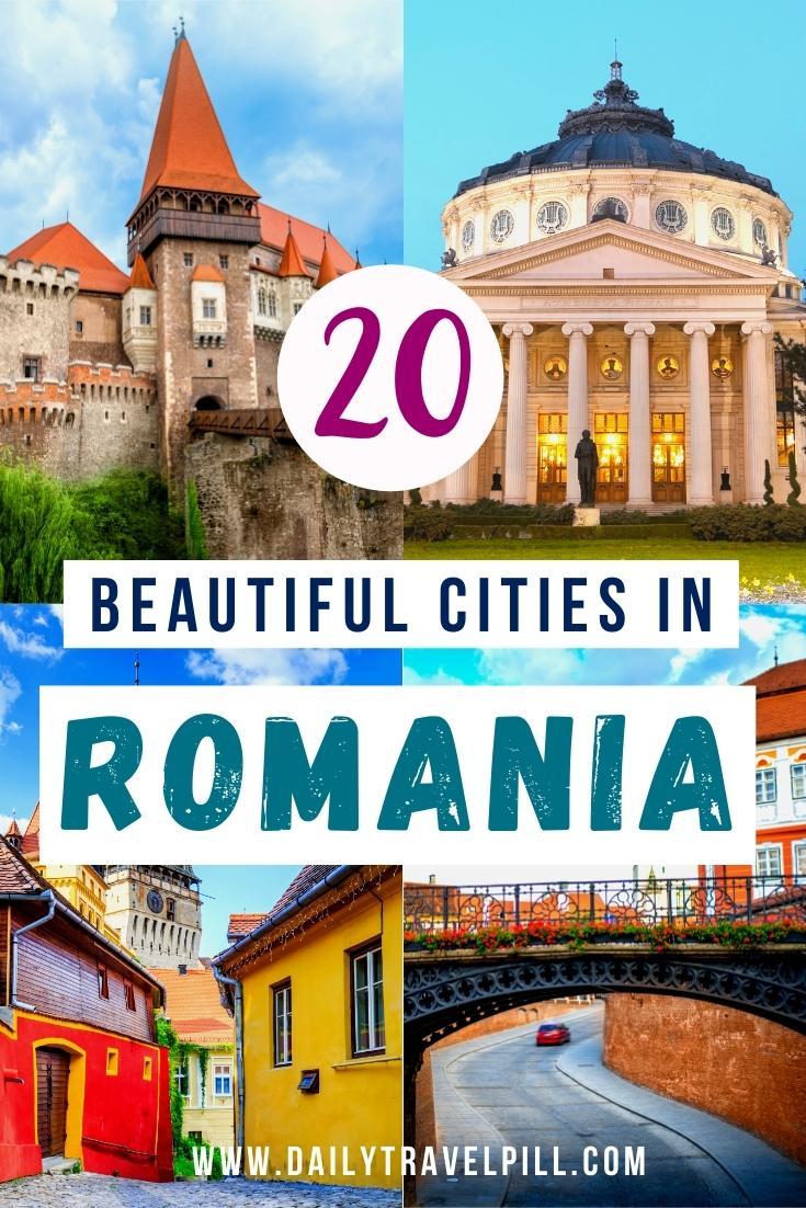 Top beautiful cities in Romania