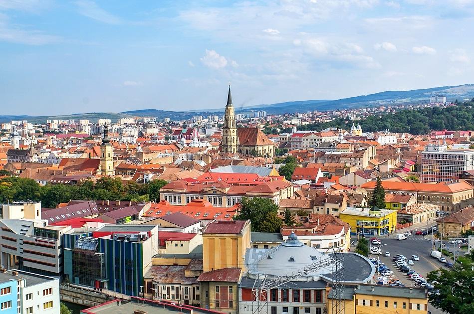 View of Cluj Napoca