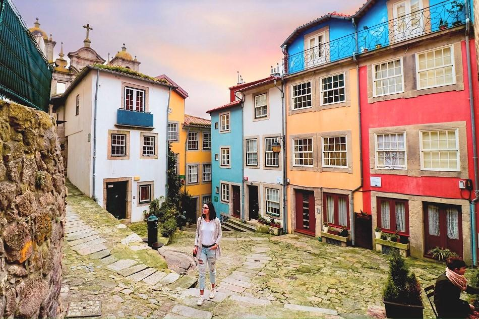 Aurelia Teslaru at Porto Colorful Houses Square