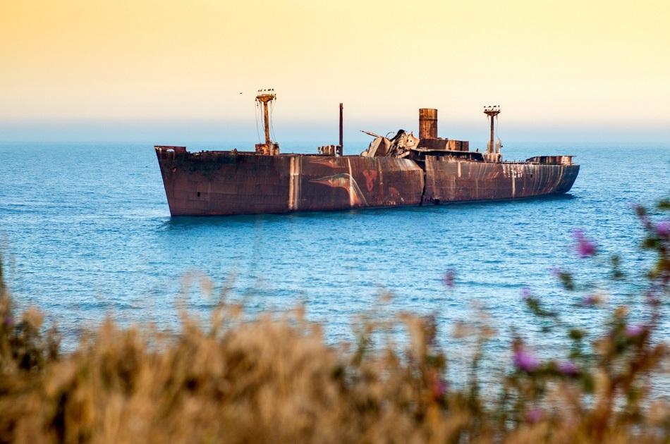 Costinesti shipwreck Romania