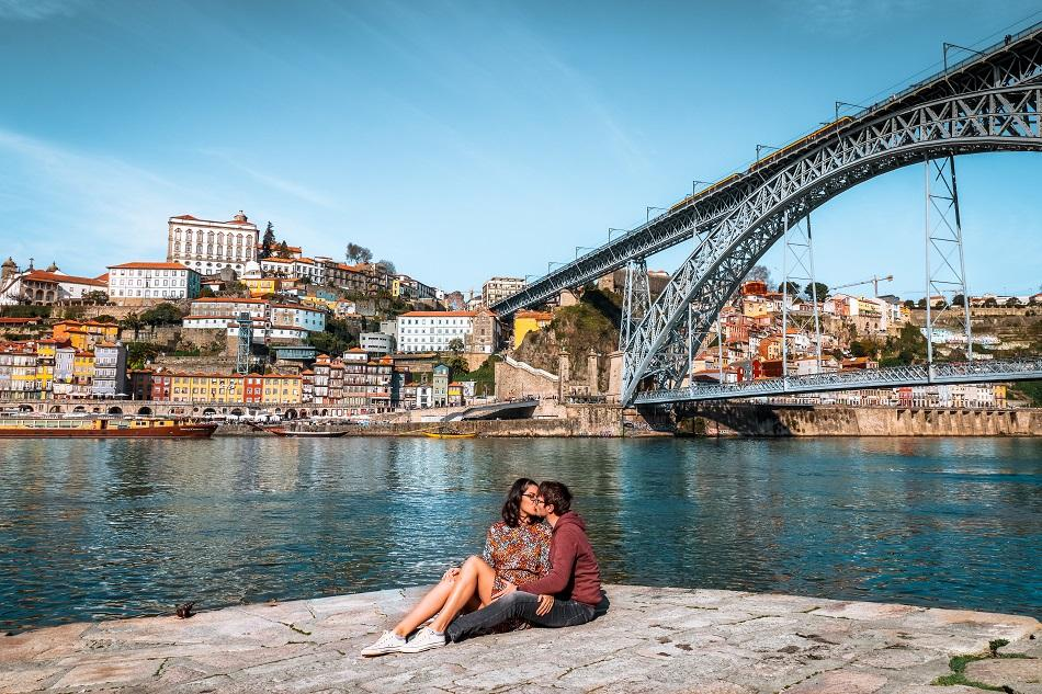 Aurelia Teslaru and Dan Moldovan in Porto
