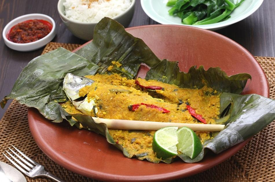 Ikan Pepes traditional dish from East Timor