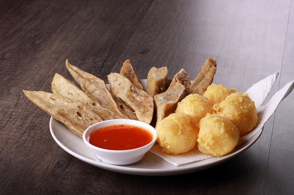 Keropok Lekor traditional dish Malaysia
