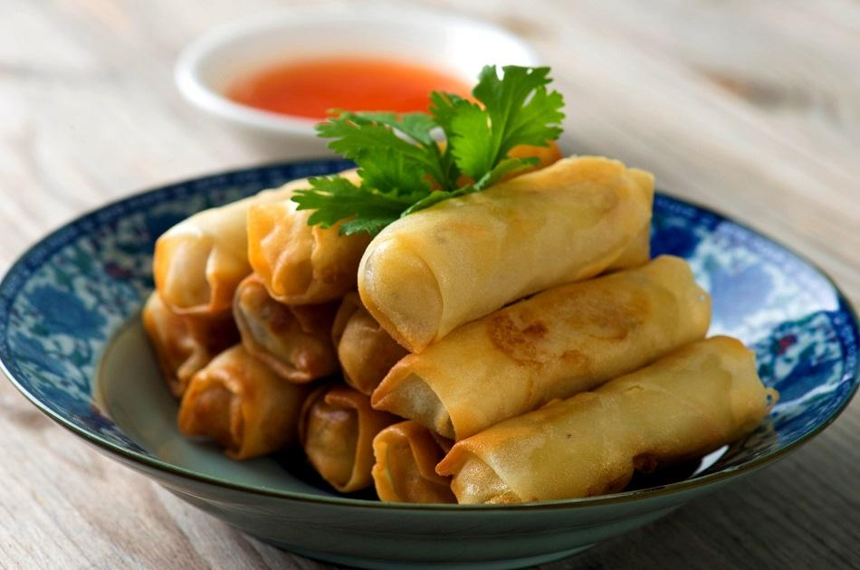 Lumpia Traditional dish in the Philippines