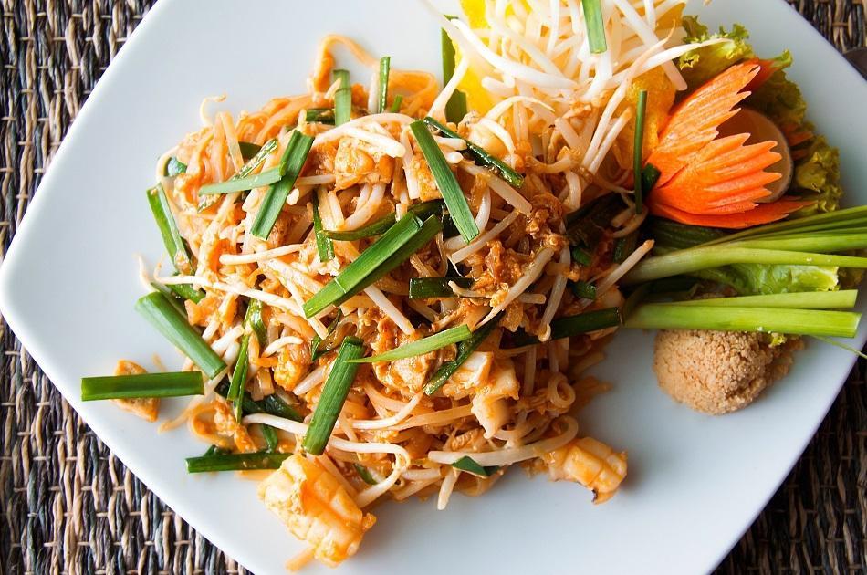 Pad Thai traditional Thai dish