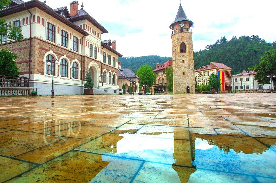 Piatra Neamt city center