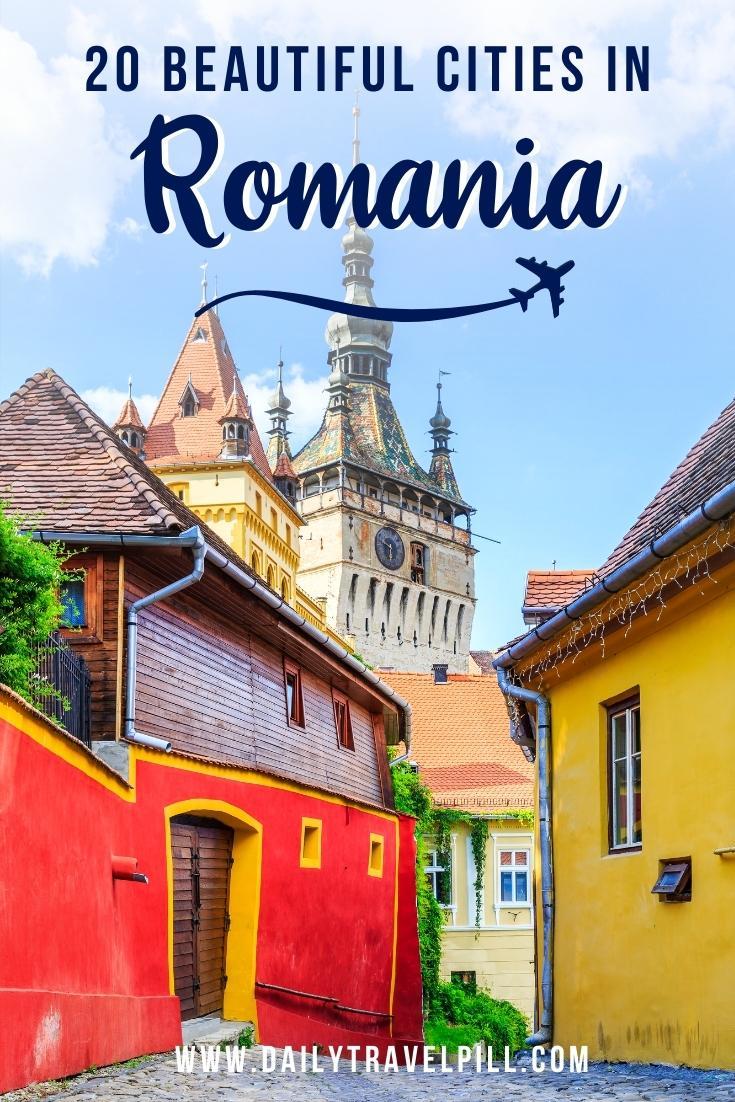Best cities in Romania
