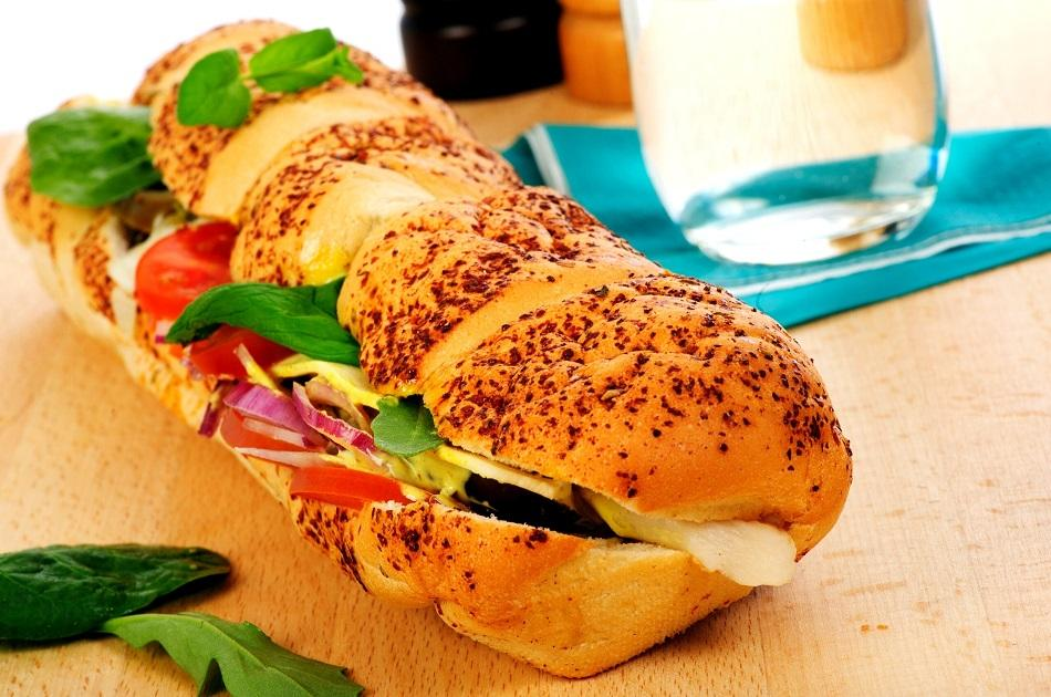 Roti John sandwich in Sinapore