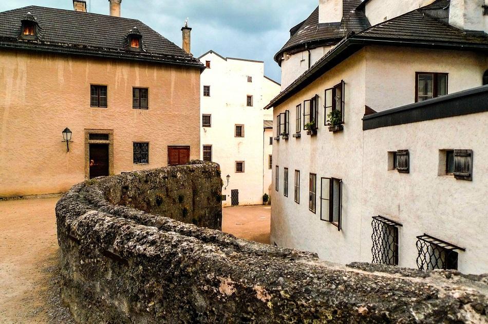 Salzburg fortress interior