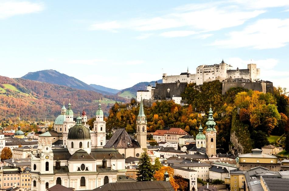 View of Salzburg Fortress
