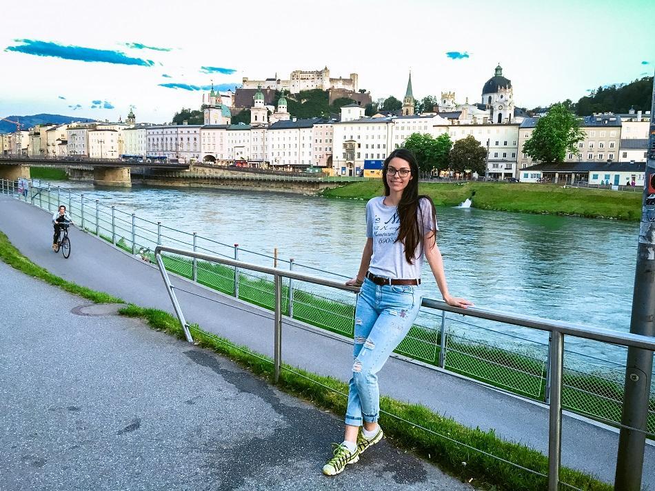 Aurelia Teslaru in Salzburg, Austria