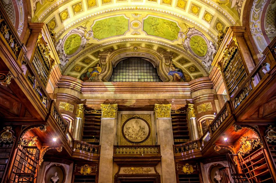 Inside the Austrian National Library