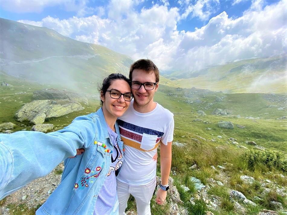 Aurelia Teslaru and Dan Moldovan at Transalpina