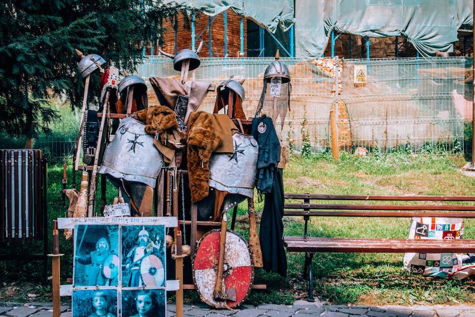 Armours in Sighisoara Romania