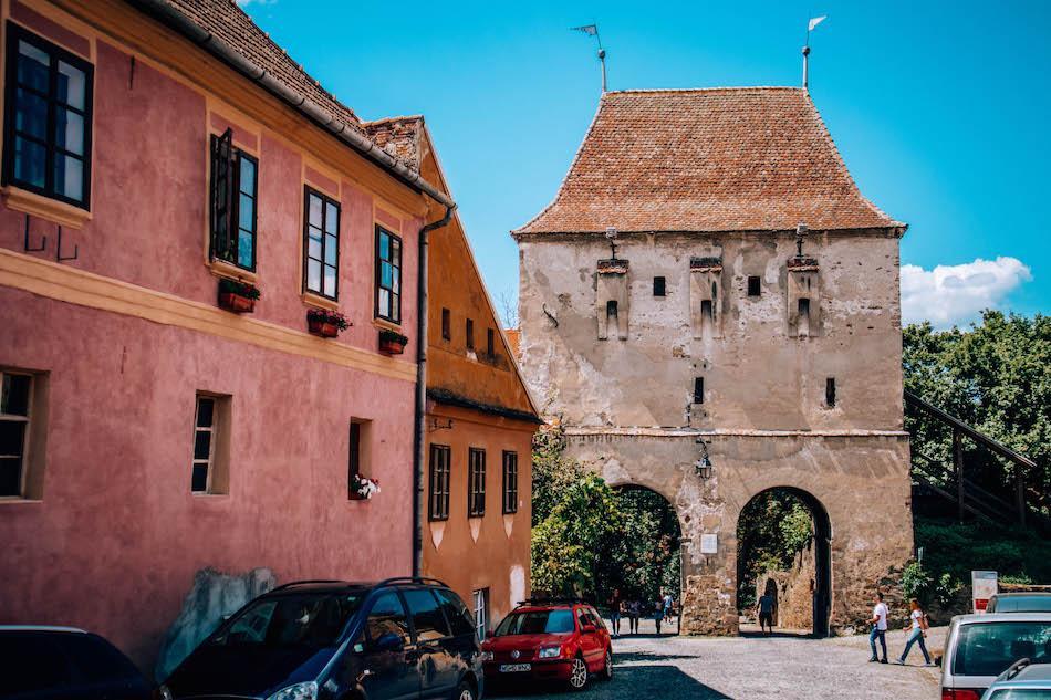 Tailors' Tower Sighisoara Fortress Romania