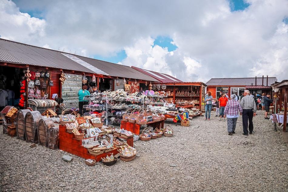 Transalpina open-air market Romania