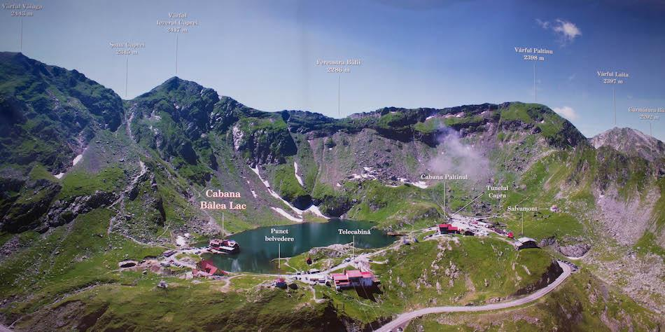 Transfagarasan Highway Romania Map