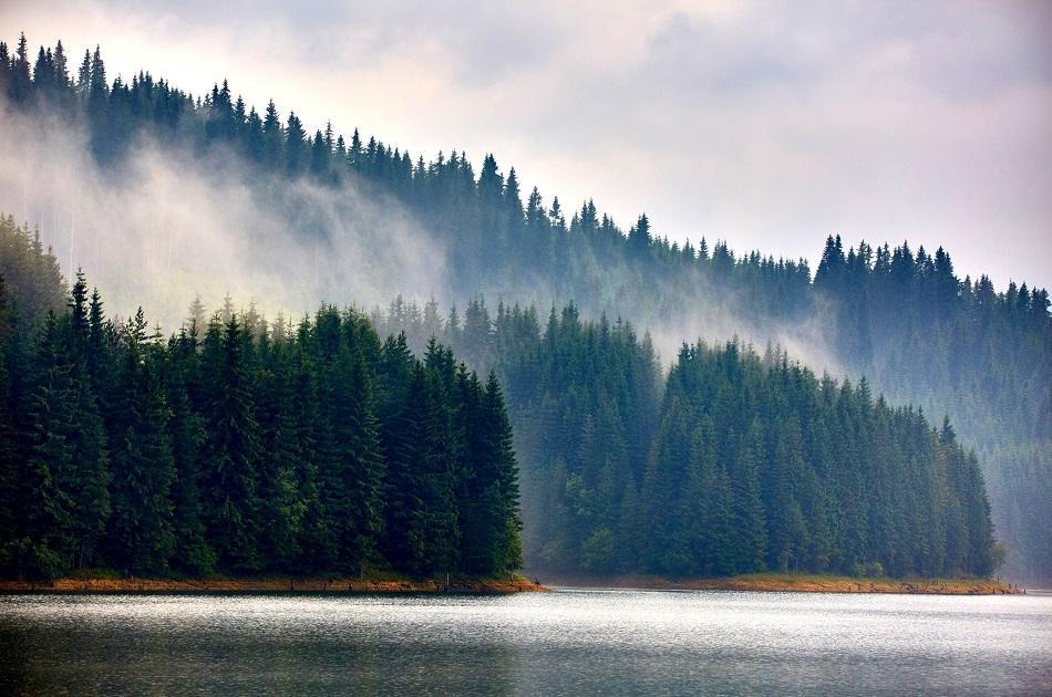 Vidra Lake Romania