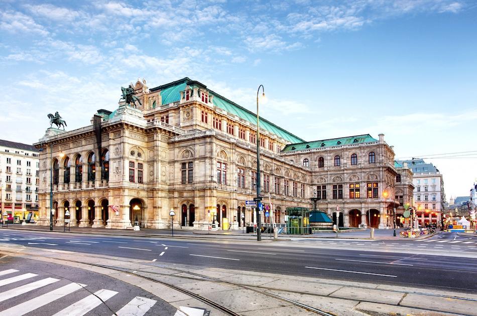 Vienna State Opera exterior entrance