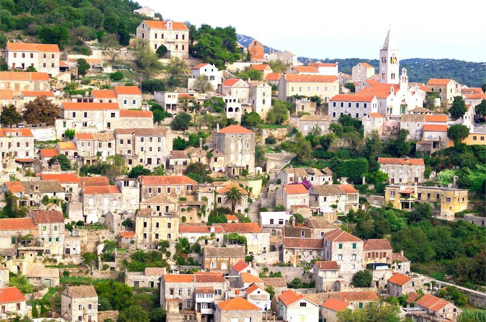 Lastovo Island Croatia hill