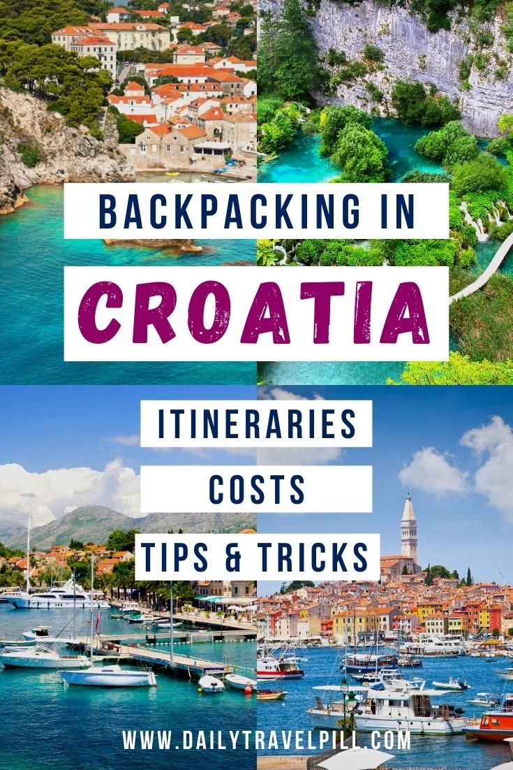Backpacking in Croatia