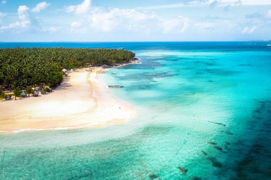 Daku Island Siargao, Daku Island Beach