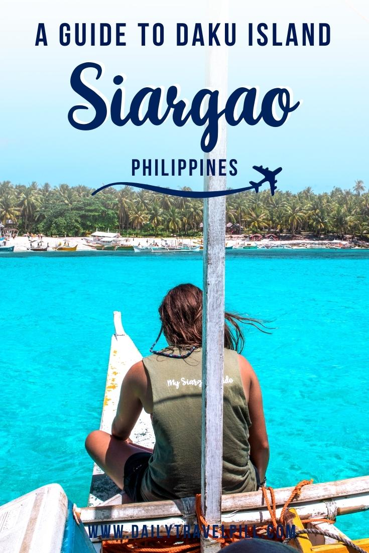 Daku Island Siargao travel guide