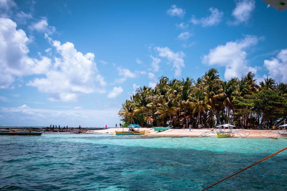 Guyam Island in Siargao, Philippines. Siargao Island hopping tour, Siargao tour, Guyam Island Beach