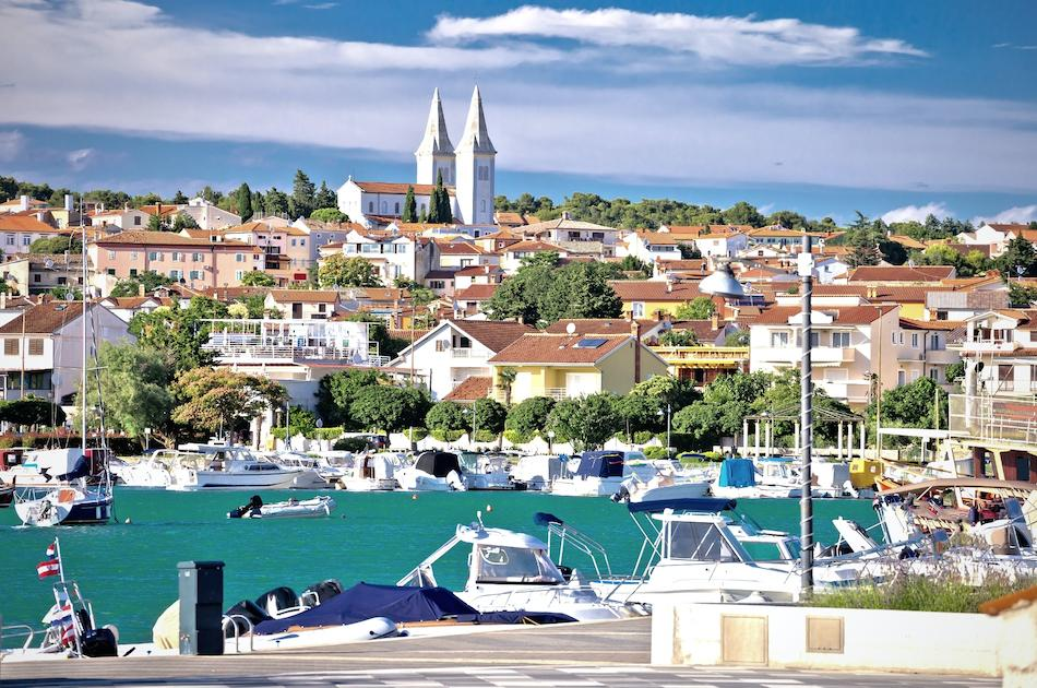 Medulin Town bay Croatia